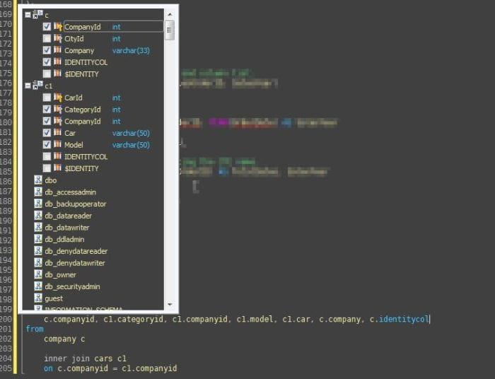 SQLCompleteColumnSelector_yfmgrl