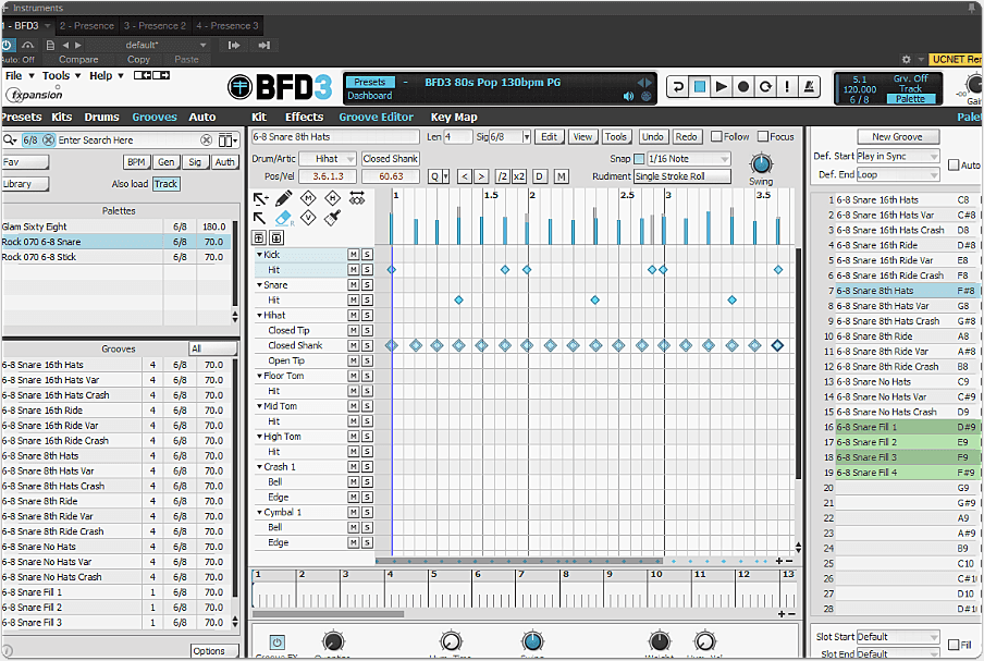 BFD3 Groove Page