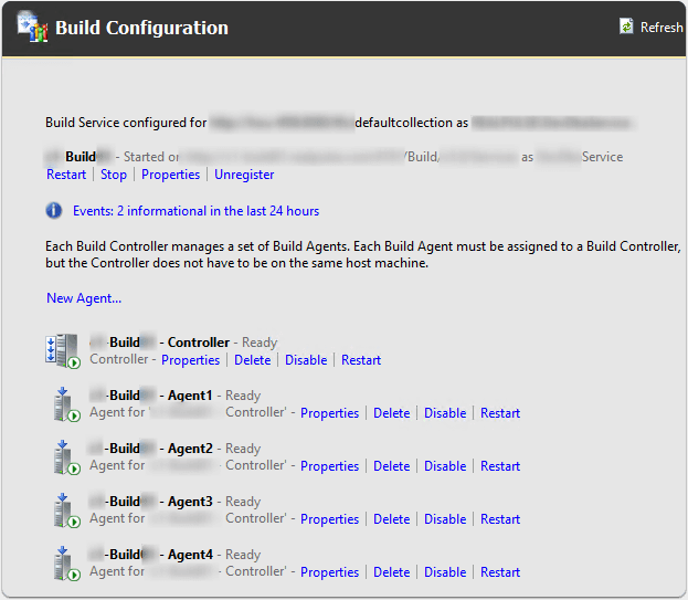Build Configuration Pane