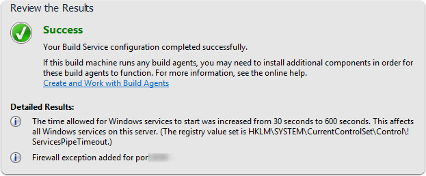 Create Build Agents
