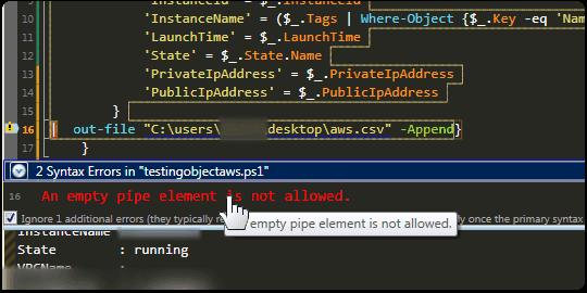 Intelligent Error Checking